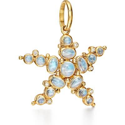 Temple St. Clair Sea Star Moonstone & Diamond Enhancer
