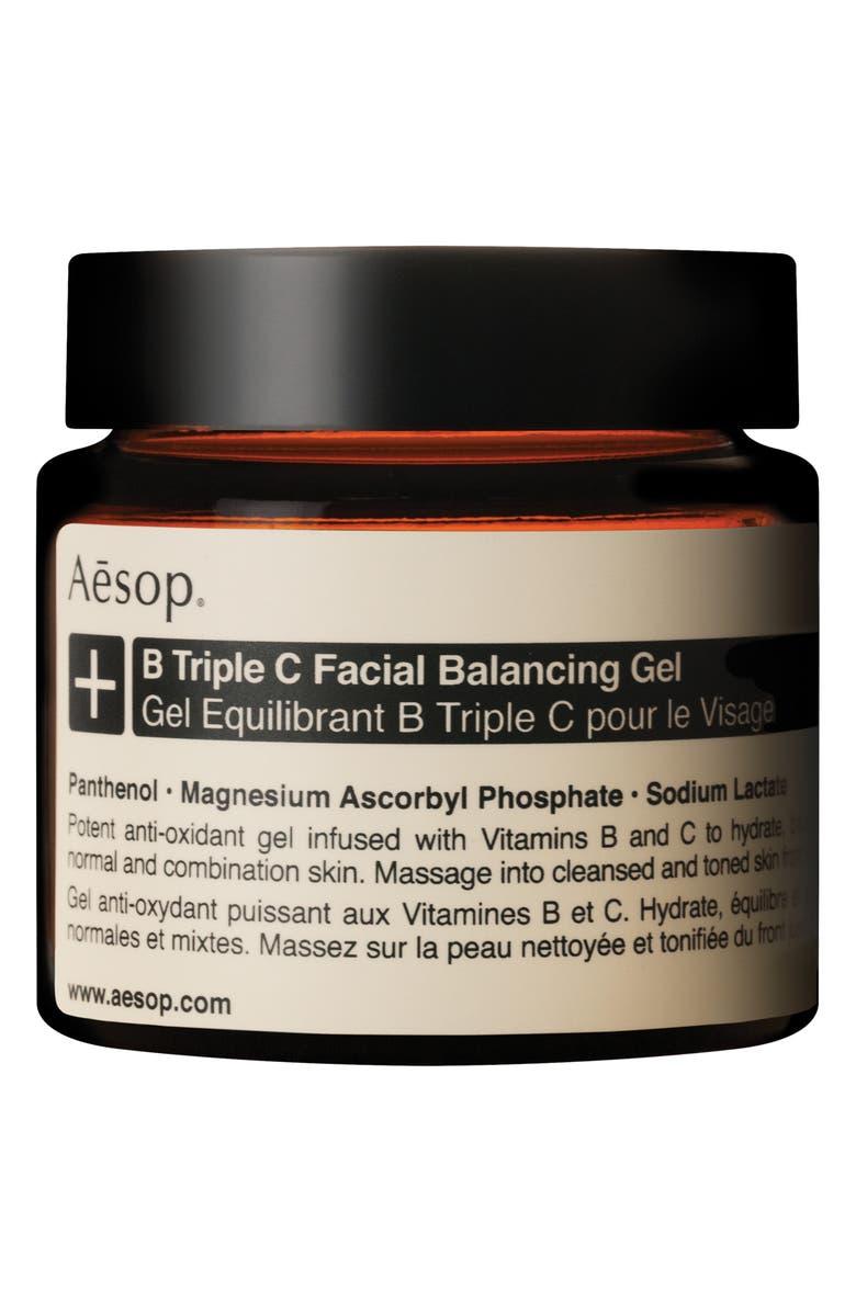 AESOP B Triple C Facial Balancing Gel, Main, color, NONE