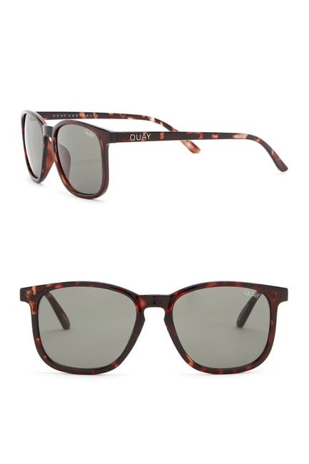 Image of QUAY AUSTRALIA The Oxford 44mm Square Sunglasses
