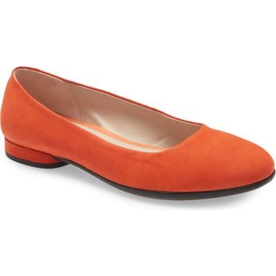 Ecco Anine Ballerina Flat, Orange