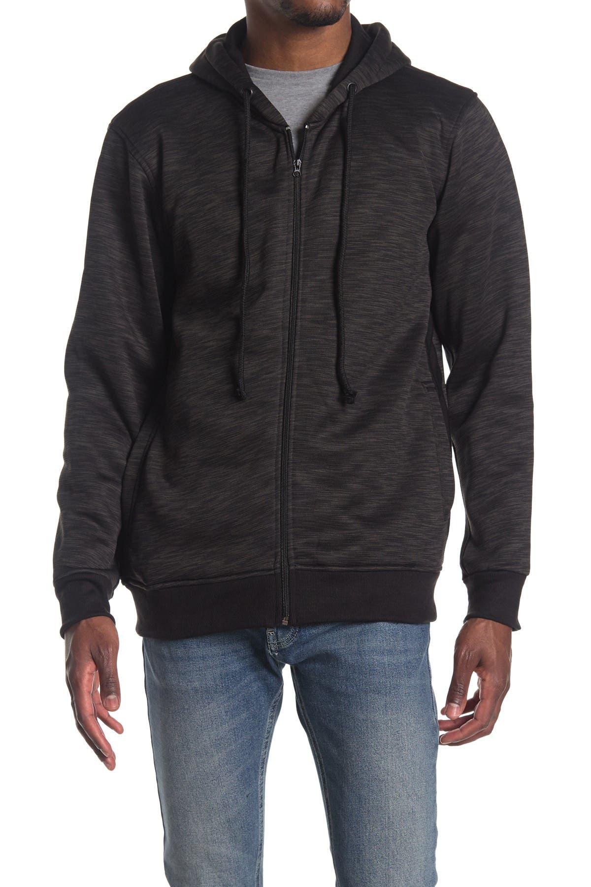 Image of Burnside Fleece Hooded Jacket