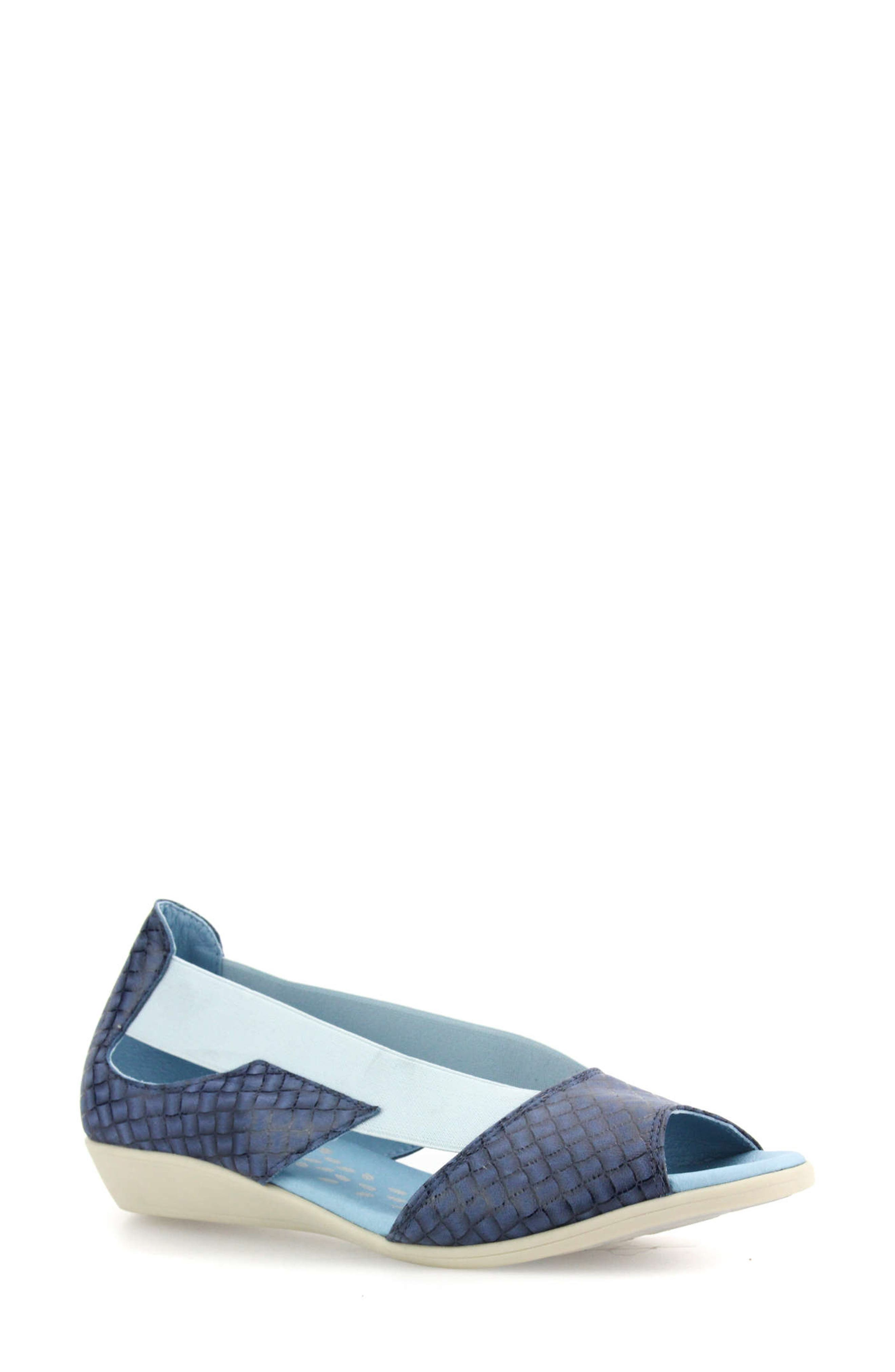 A breathable footbed and flexible sole enhance the everyday comfort of this versatile and stylish sandal. Style Name: Cloud Cacey Wedge Sandal (Women). Style Number: 6073168. Available in stores.