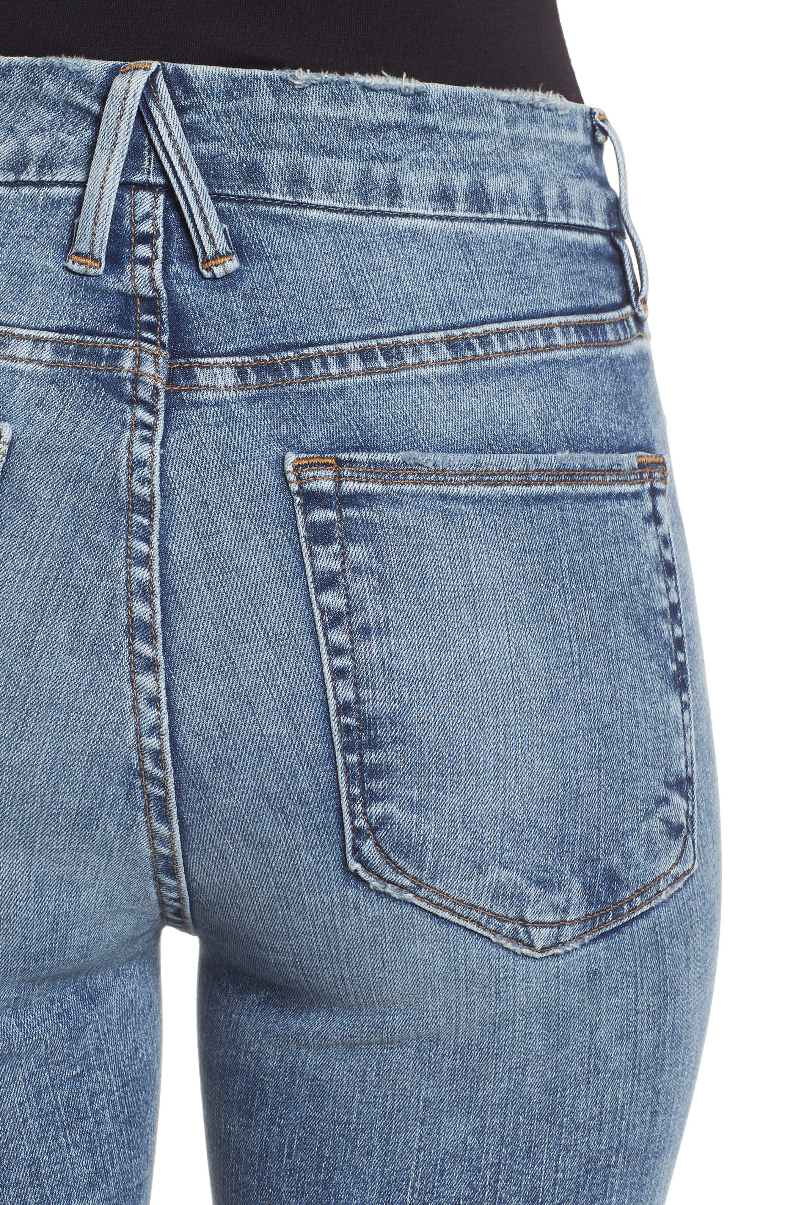 ,                             Good Legs High Waist Skinny Jeans,                             Alternate thumbnail 7, color,                             401