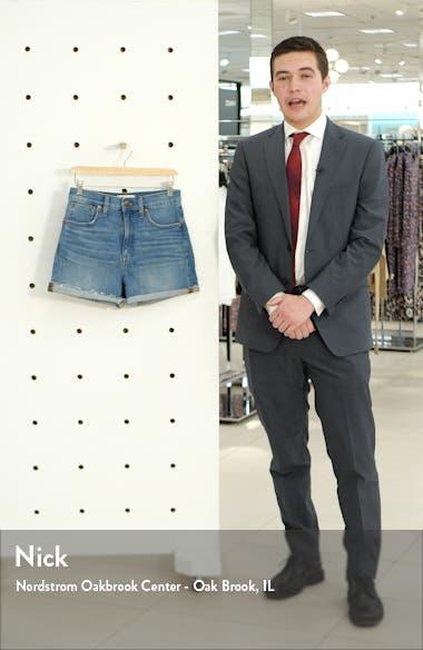 High Waist Denim Shorts, sales video thumbnail