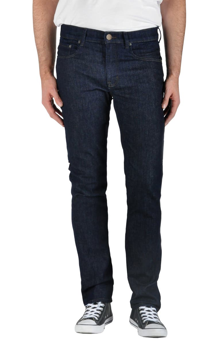 MODERN AMERICAN Lexington Slim Leg Jeans, Main, color, DAYTONA