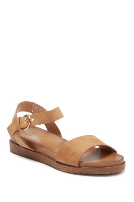Image of Top Moda Fiesta Ankle Strap Sandal