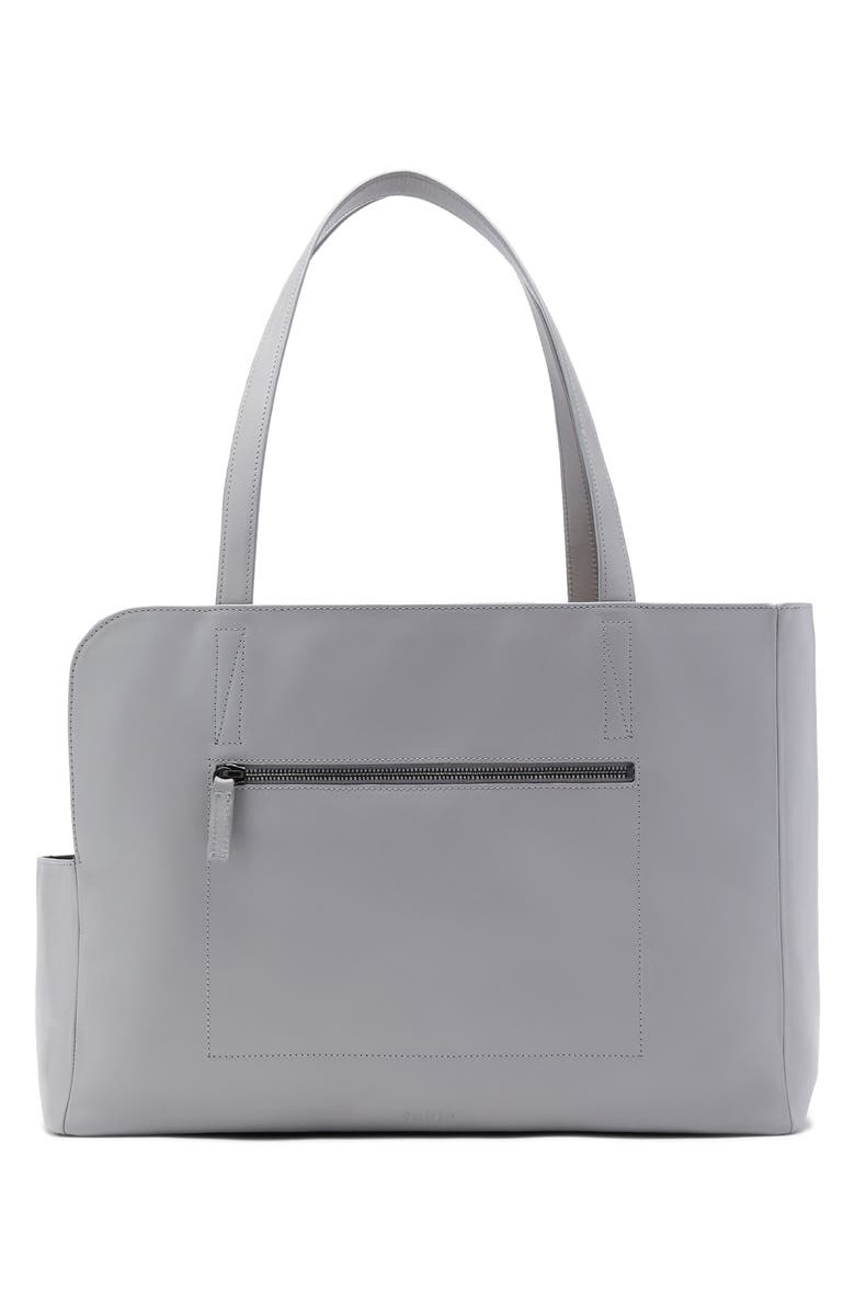 FABLE Leather Carrier, Main, color, LIGHT GREY