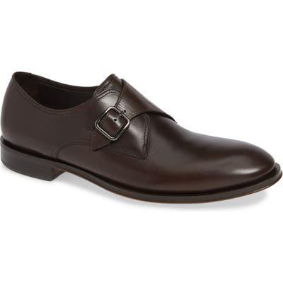 Allen Edmonds Umbria Monk Strap Shoe, Brown