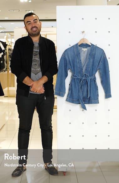 Denim Wrap Jacket, sales video thumbnail
