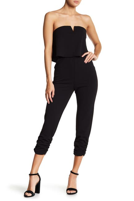 Image of Love...Ady Strapless Popover Jumpsuit
