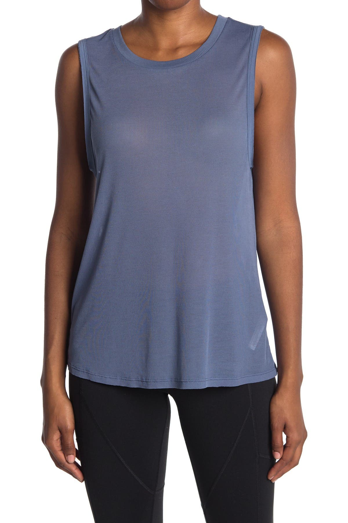 Image of Free People FP Movement Om Crew Neck Tank Top