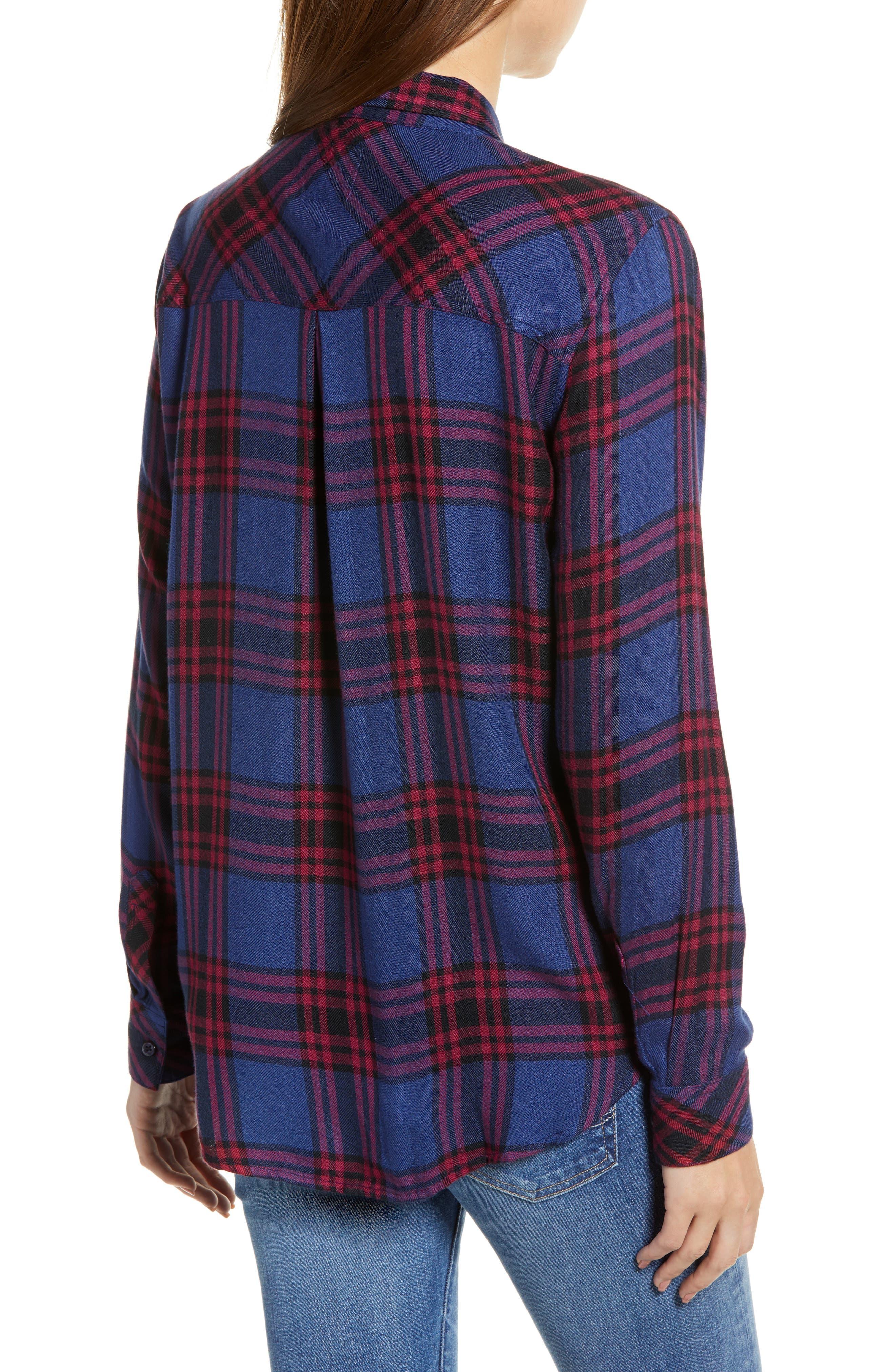 ,                             Hunter Plaid Shirt,                             Alternate thumbnail 380, color,                             450