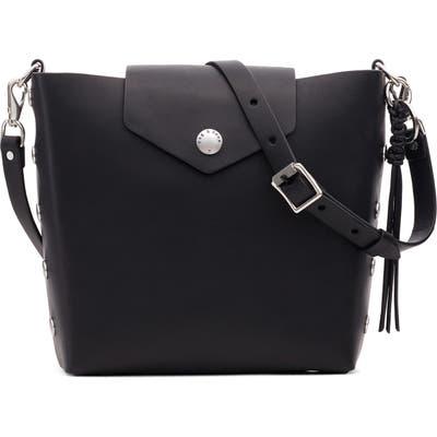 Rag & Bone Atlas Leather Bucket Bag - Black