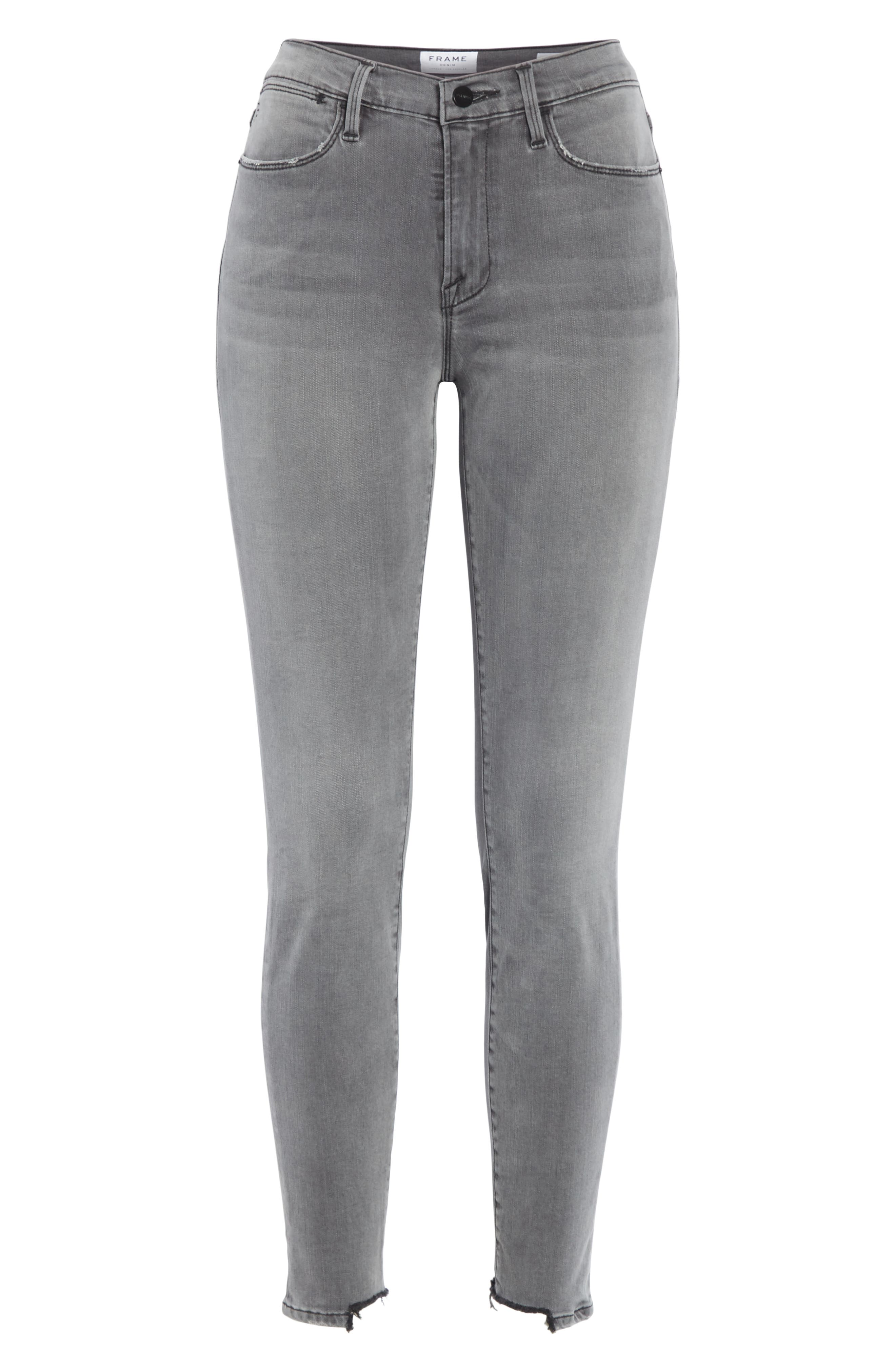 ,                             Le High Ankle Skinny Jeans,                             Alternate thumbnail 25, color,                             033