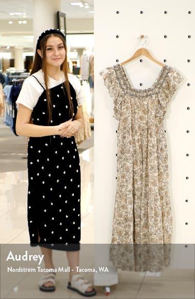 Bonita Floral Print Dress, sales video thumbnail