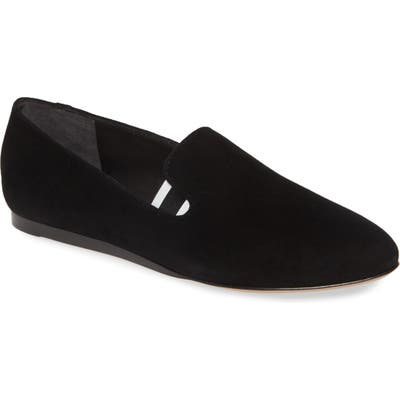 Veronica Beard Griffin Pointy Toe Loafer - Black
