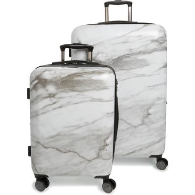 Calpak Astyll 22-Inch & 30-Inch Spinner Luggage Set - White