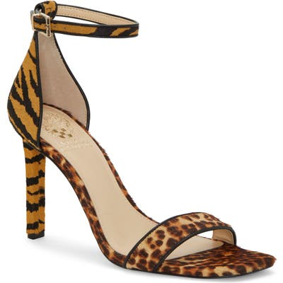 Vince Camuto Lauralie Ankle Strap Sandal, Brown