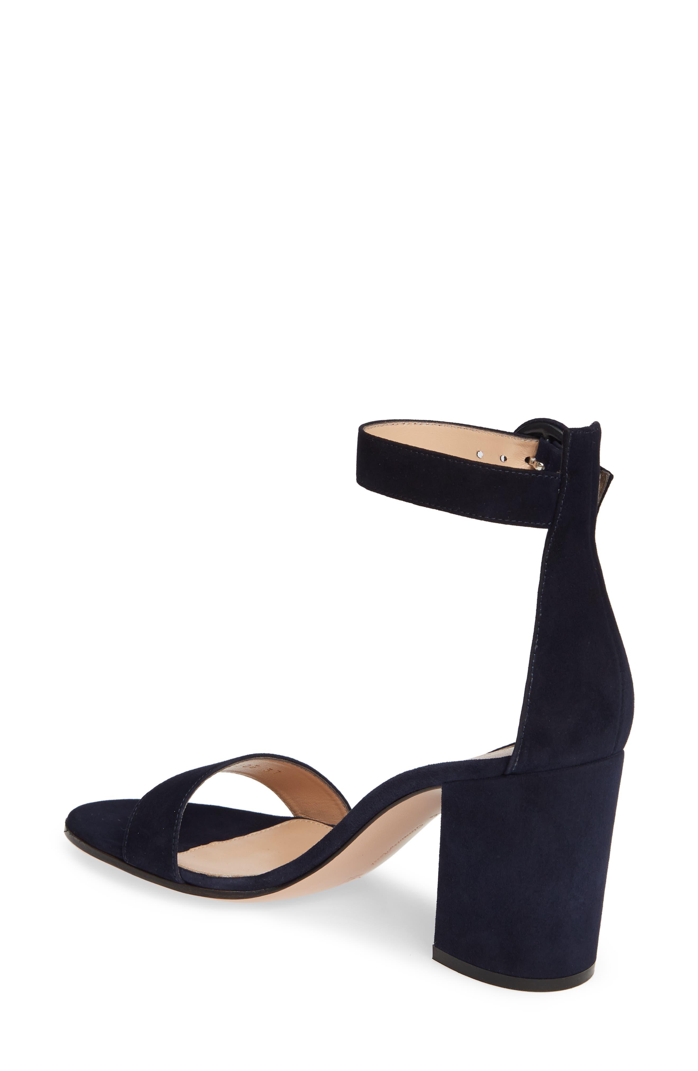 ,                             Block Heel Sandal,                             Alternate thumbnail 2, color,                             DENIM BLUE SUEDE