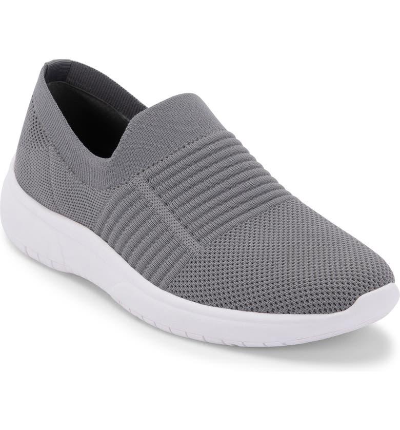 BLONDO Karen Waterproof Slip-On Sneaker, Main, color, GREY FABRIC