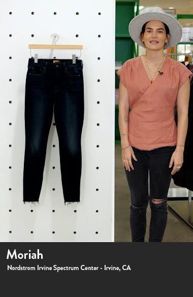 Looker High Waist Ankle Skinny Jeans, sales video thumbnail