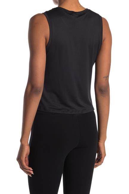 Image of Marika Aura Twist Crop Tank Top