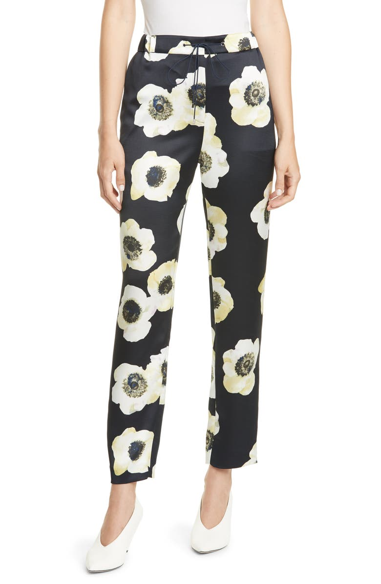 HUGO Holani Anemone Print Drawstring Pants, Main, color, ANEMONE PRINT