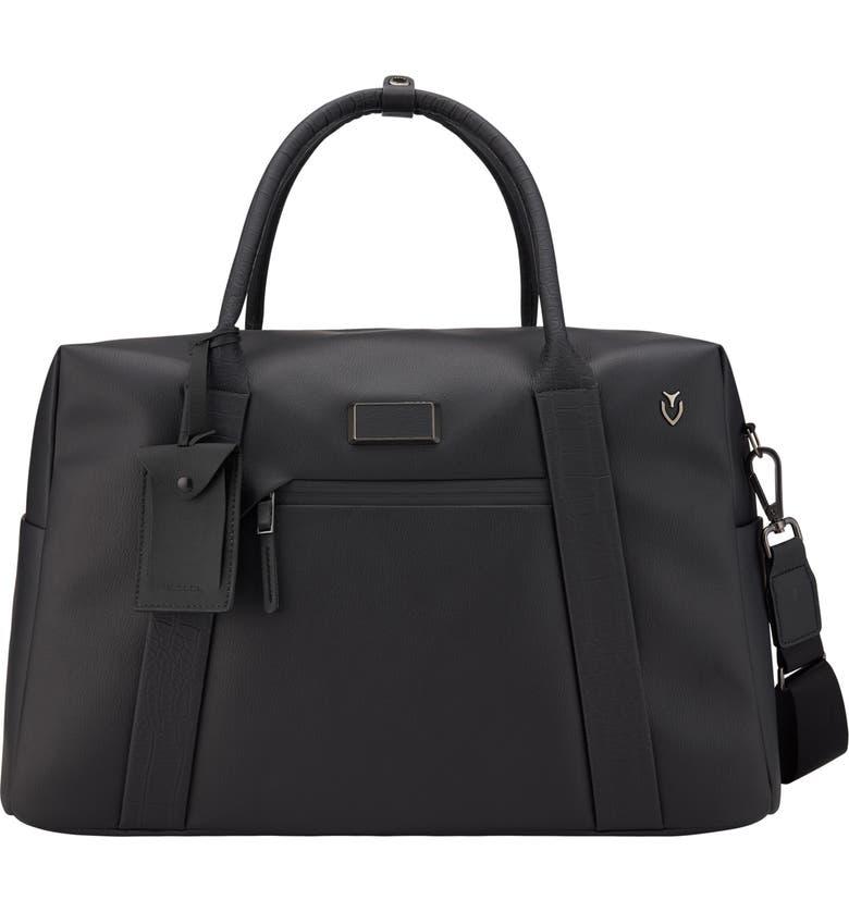 VESSEL Signature 2.0 Faux Leather Duffle Bag, Main, color, 001