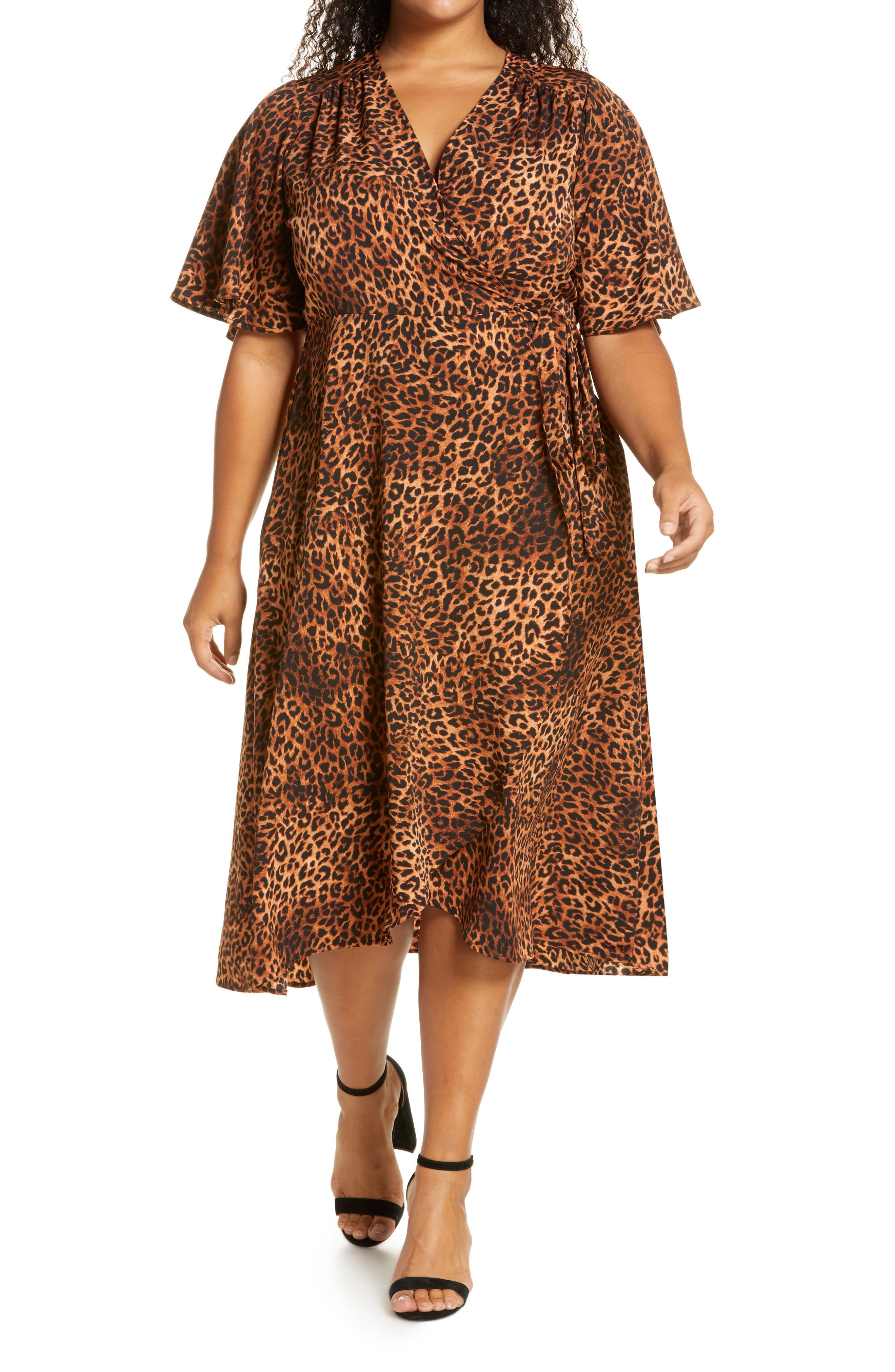 Bobeau Orna Wrap Dress (Plus Size) | Nordstrom