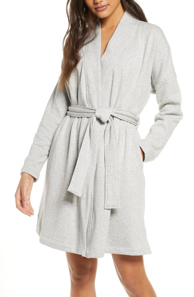 UGG<SUP>®</SUP> Braelyn II Robe, Main, color, SEAL HEATHER