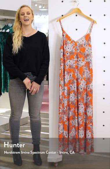 Boudoir Botanical Maxi Dress, sales video thumbnail