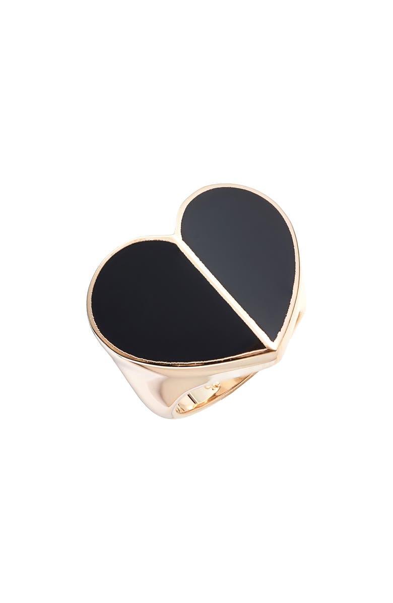 Kate Spade New York Heritage Spade Heart Ring
