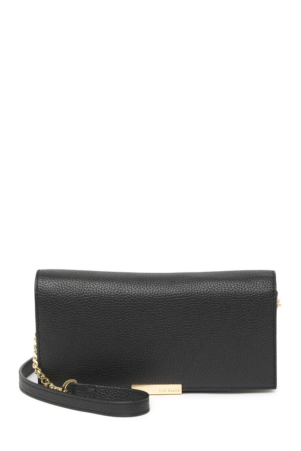 Image of Ted Baker London Shazdeh Leather Wallet on a Chain