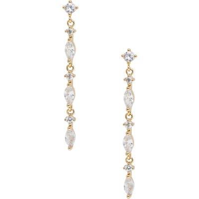 Ettika Linear Drop Earrings
