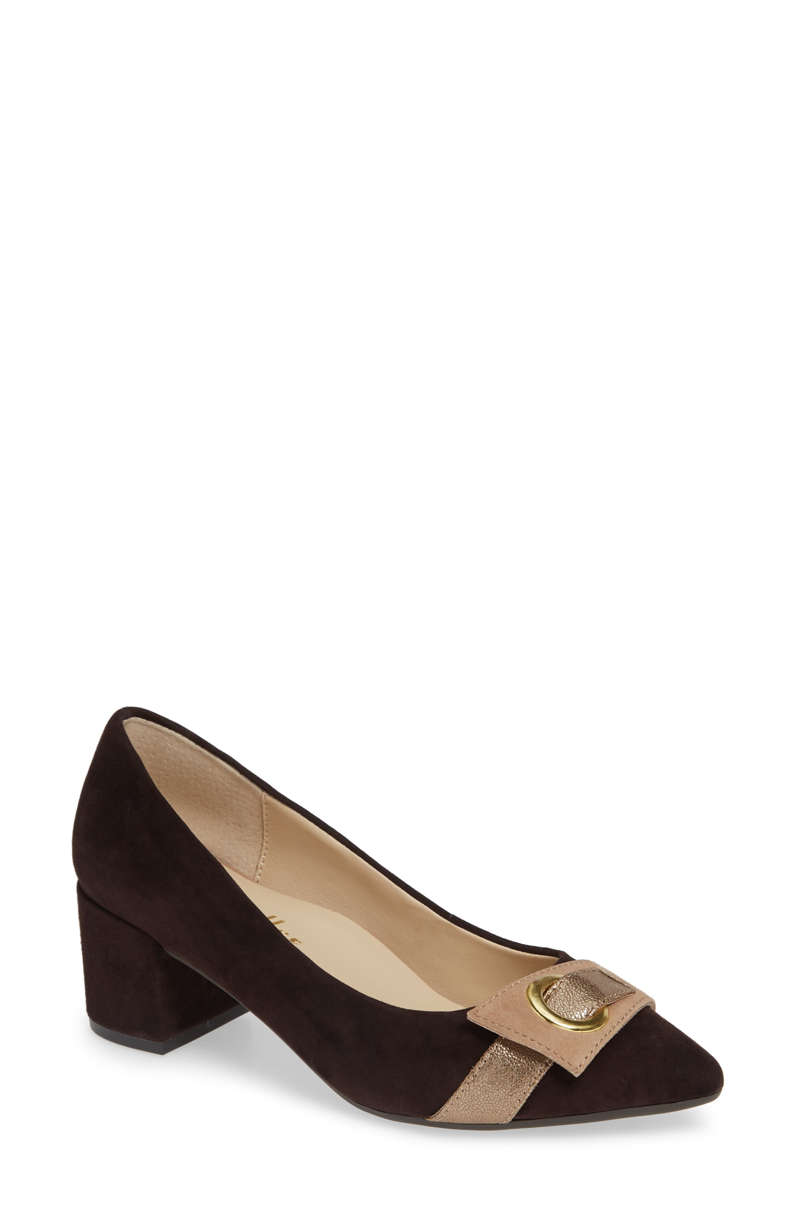 Image of BETTYE MULLER CONCEPTS Fritzi Suede Pump