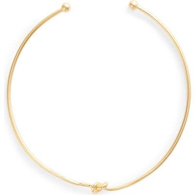 Sterling Forever Love Knot Collar Necklace