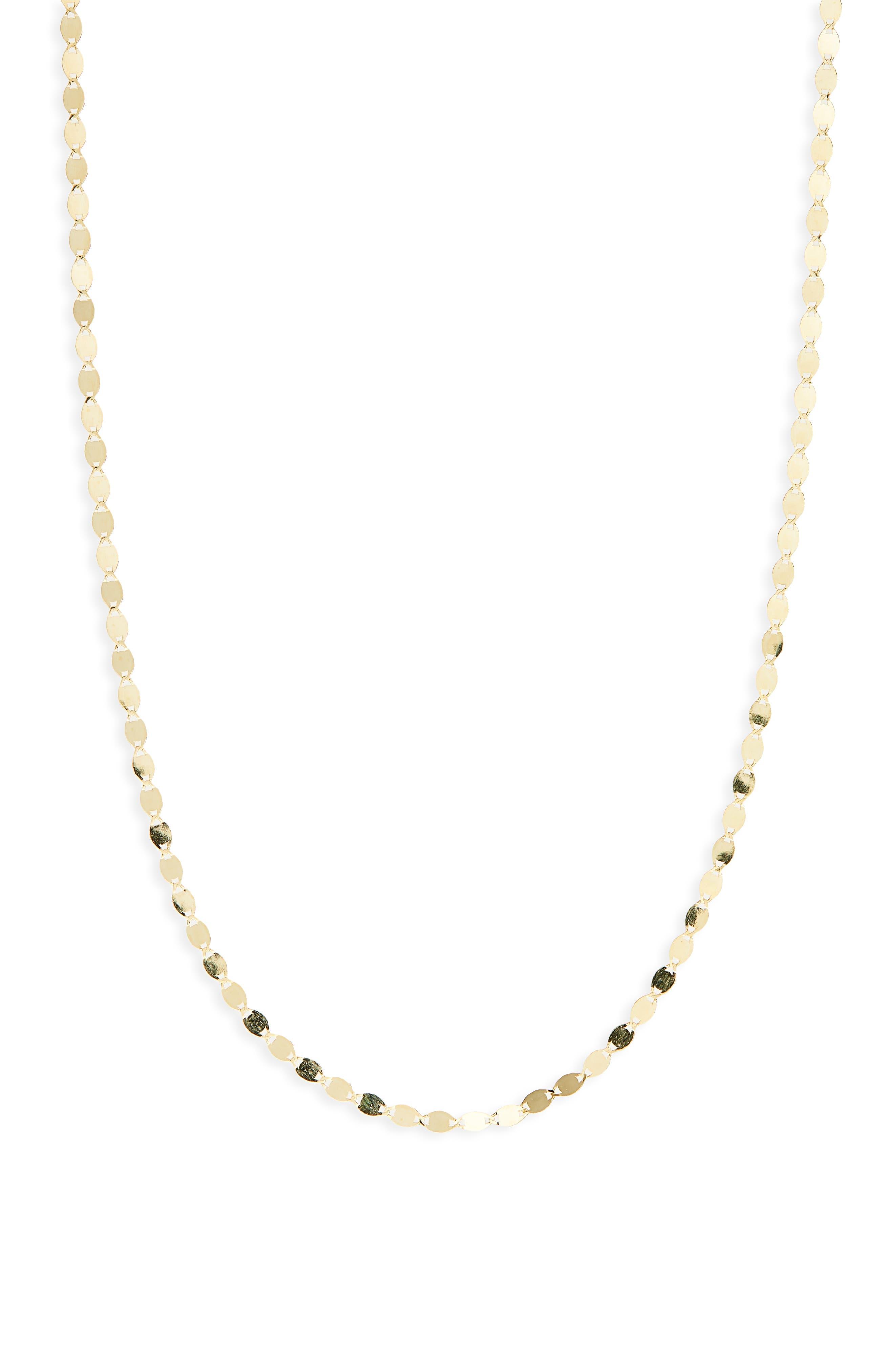 Petite Nude Chain Necklace