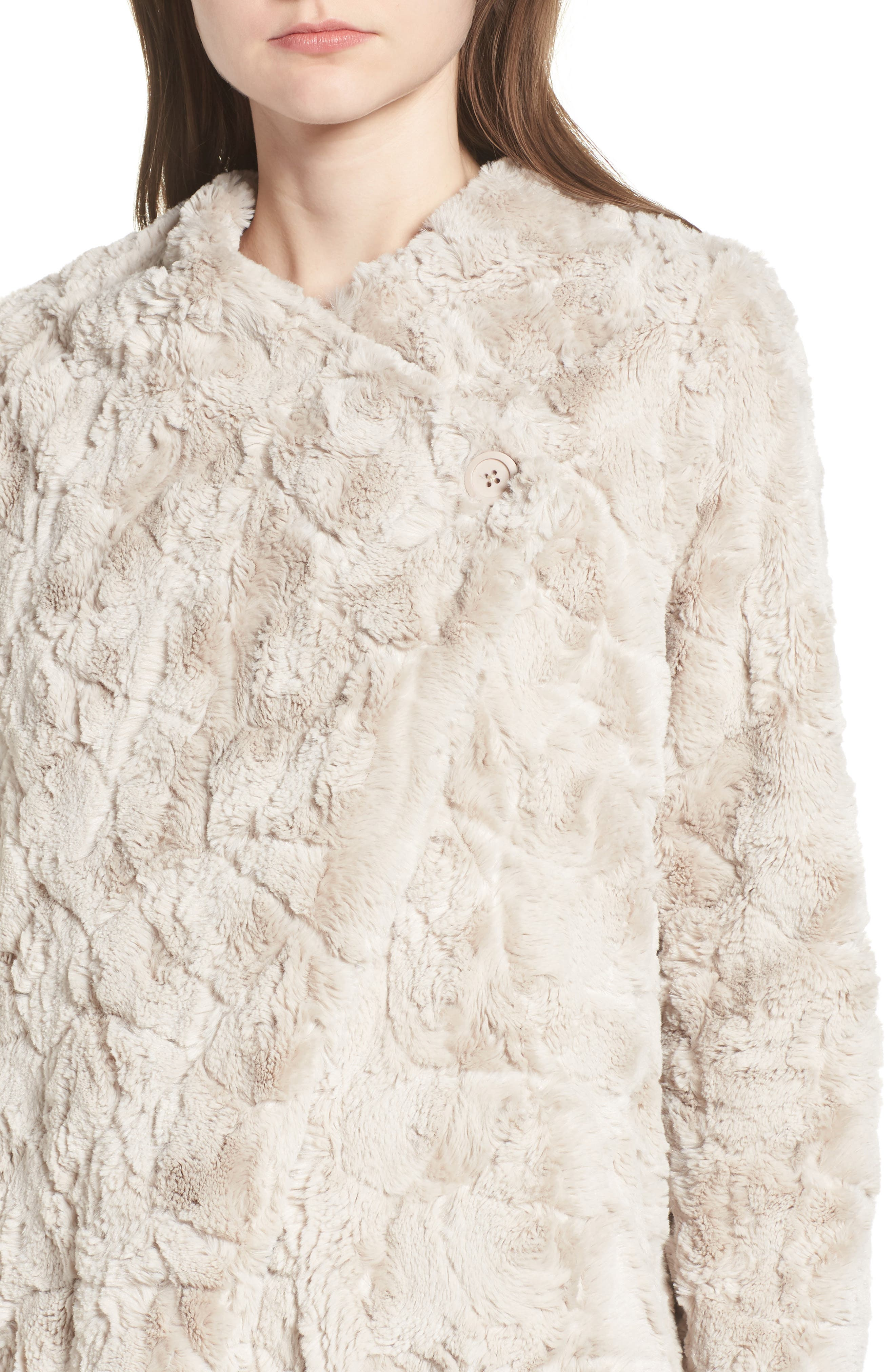 ,                             Tucker Wubby Faux Fur Coat,                             Alternate thumbnail 17, color,                             900