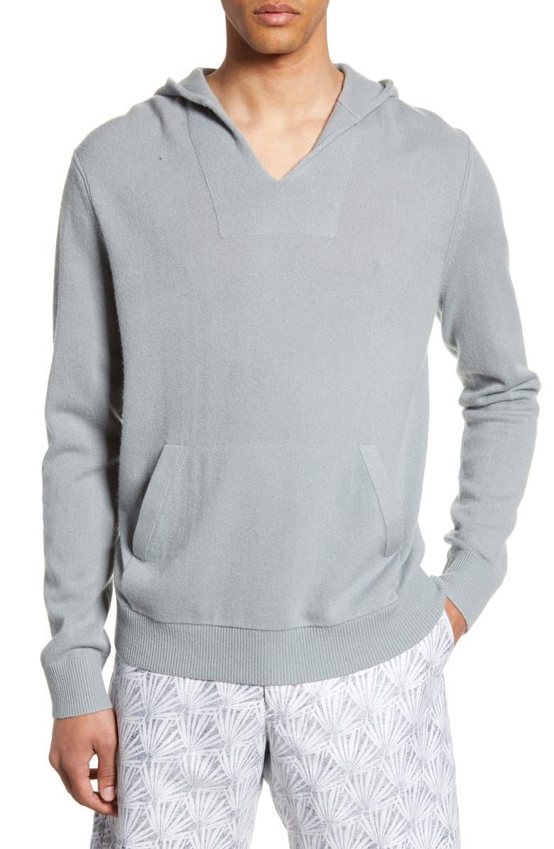 CLUB MONACO Cashmere Hoodie Pullover, Main, color, 020