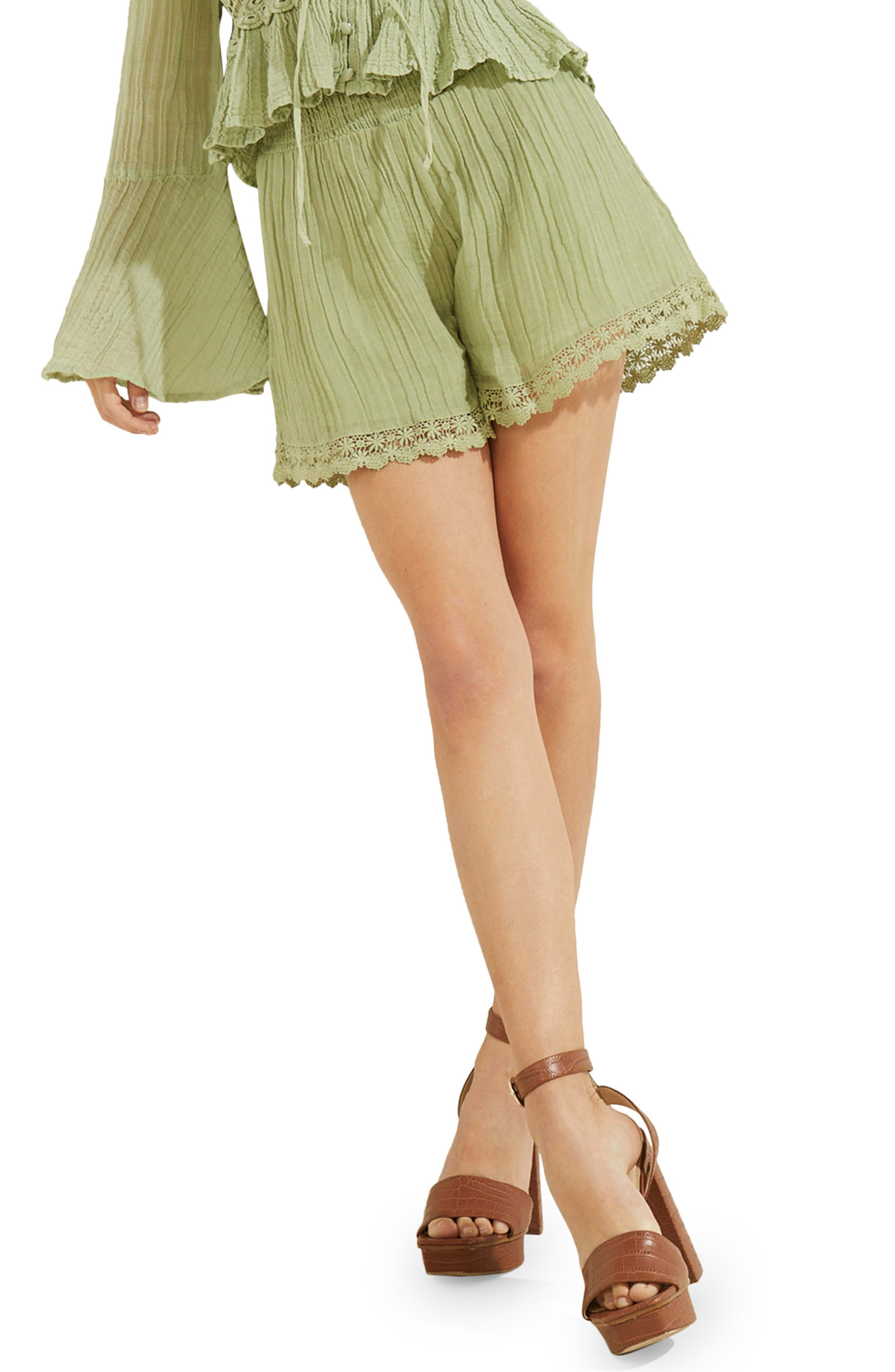 Remi Lace Trim Shorts
