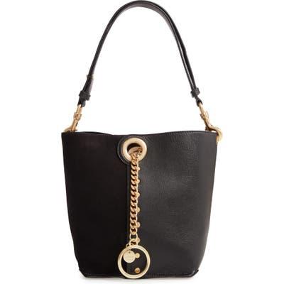 See By Chloe Leather Shoulder Bag - Black