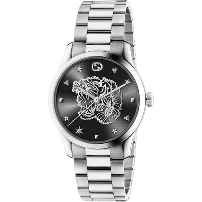 Gucci G-Timeless Tiger Bracelet Watch,