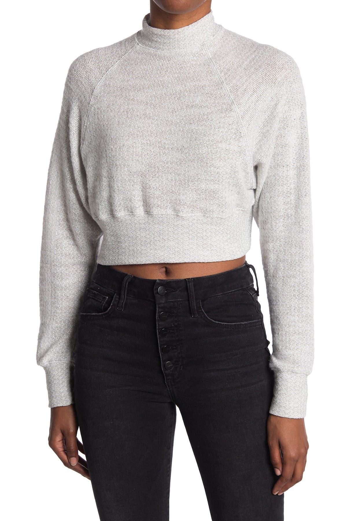 Image of Abound Mock Neck Long Sleeve Sweater