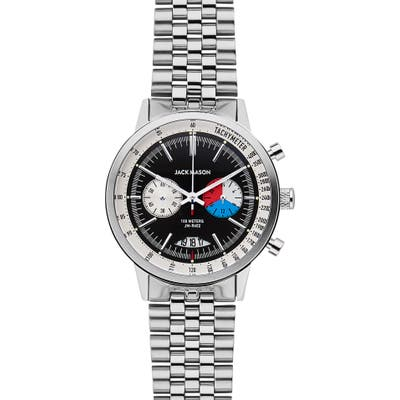 Jack Mason Racing Chronograph Bracelet Watch, 40Mm
