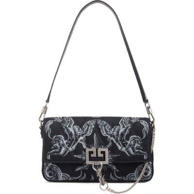Givenchy Charm Wave Shoulder Bag - Black