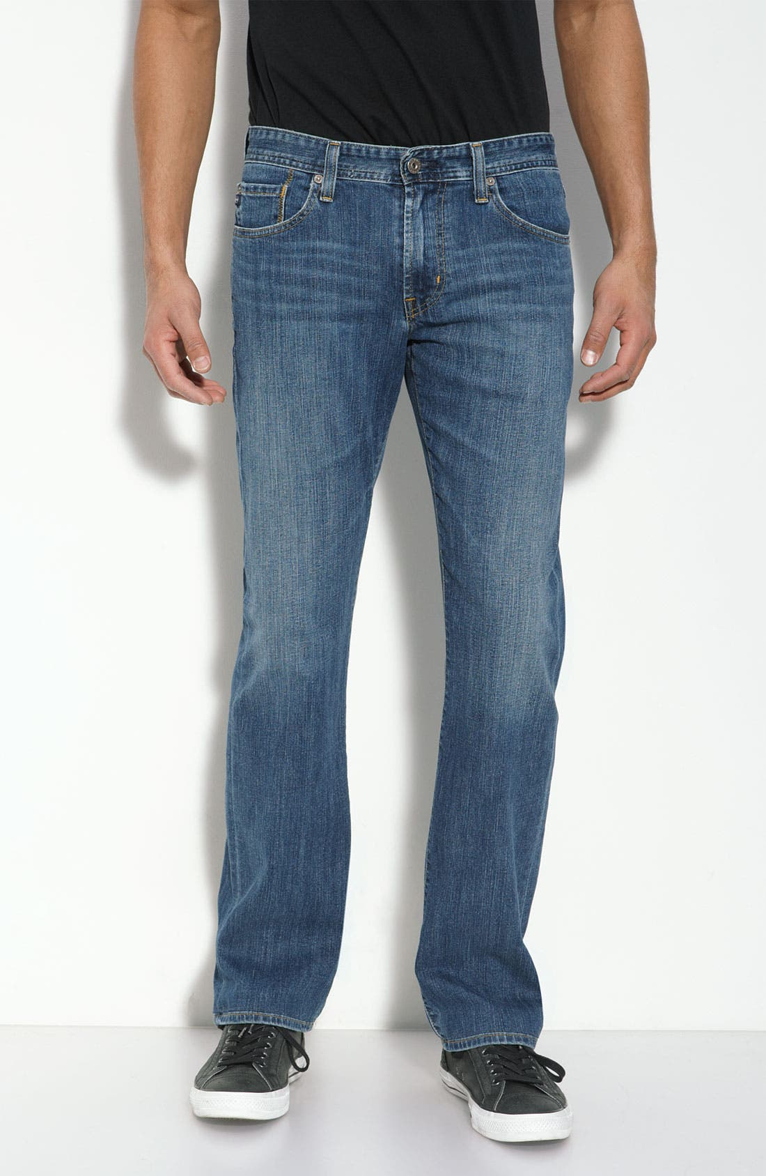 ,                             'Protégé' Straight Leg Jeans,                             Main thumbnail 22, color,                             421
