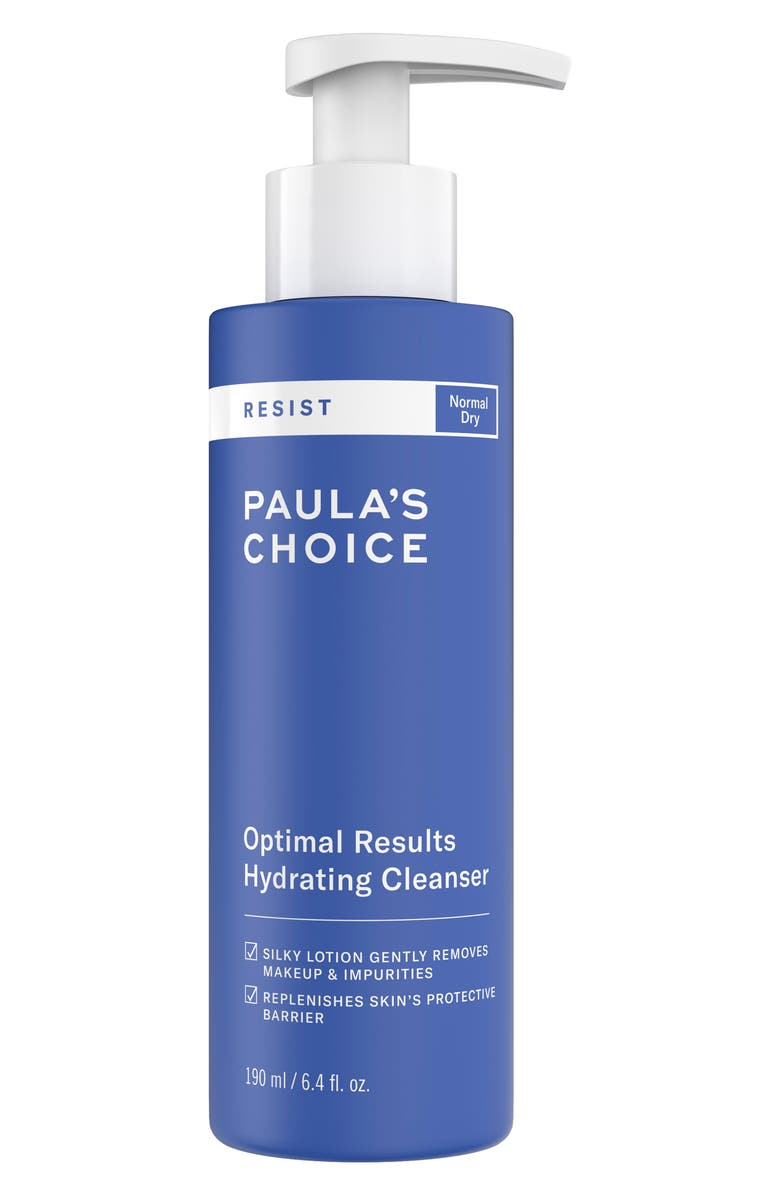 PAULA'S CHOICE Resist Optimal Results Hydrating Cleanser, Main, color, NO COLOR