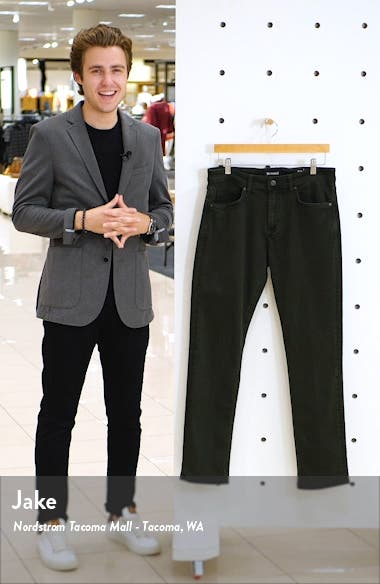 Wooster Slim Fit Twill Pants, sales video thumbnail