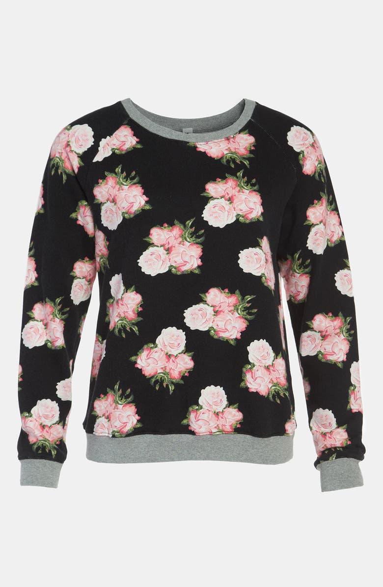 MURAL Floral Sweatshirt, Main, color, 005
