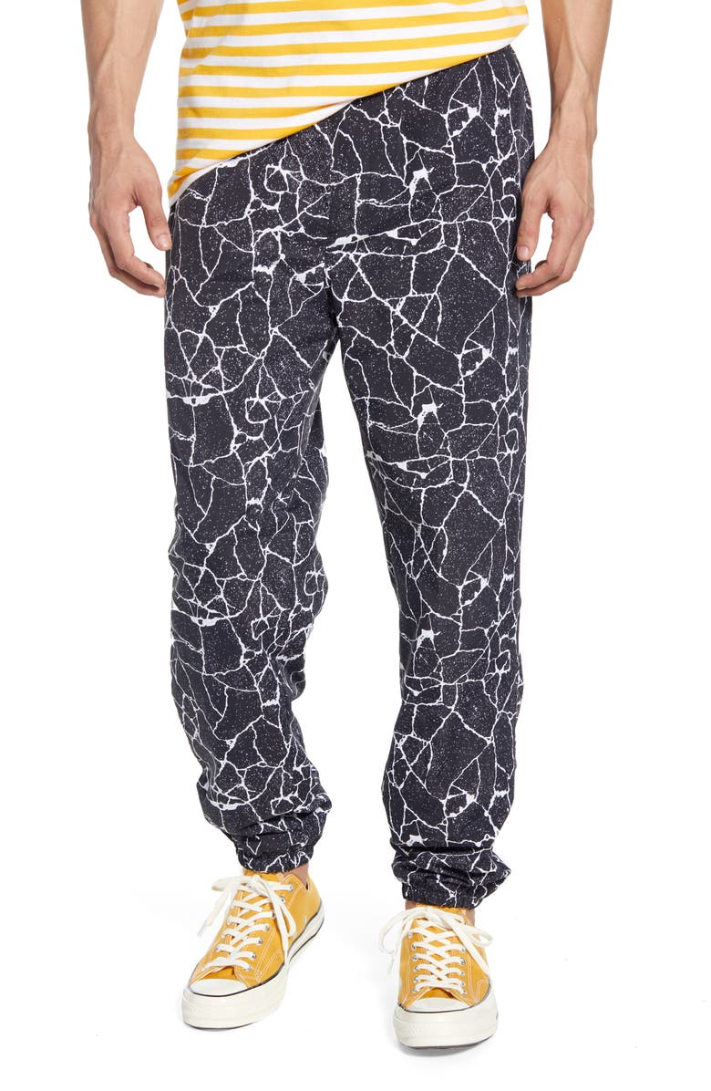 OBEY Concrete Easy Relaxed Fit Pants, Main, color, 001
